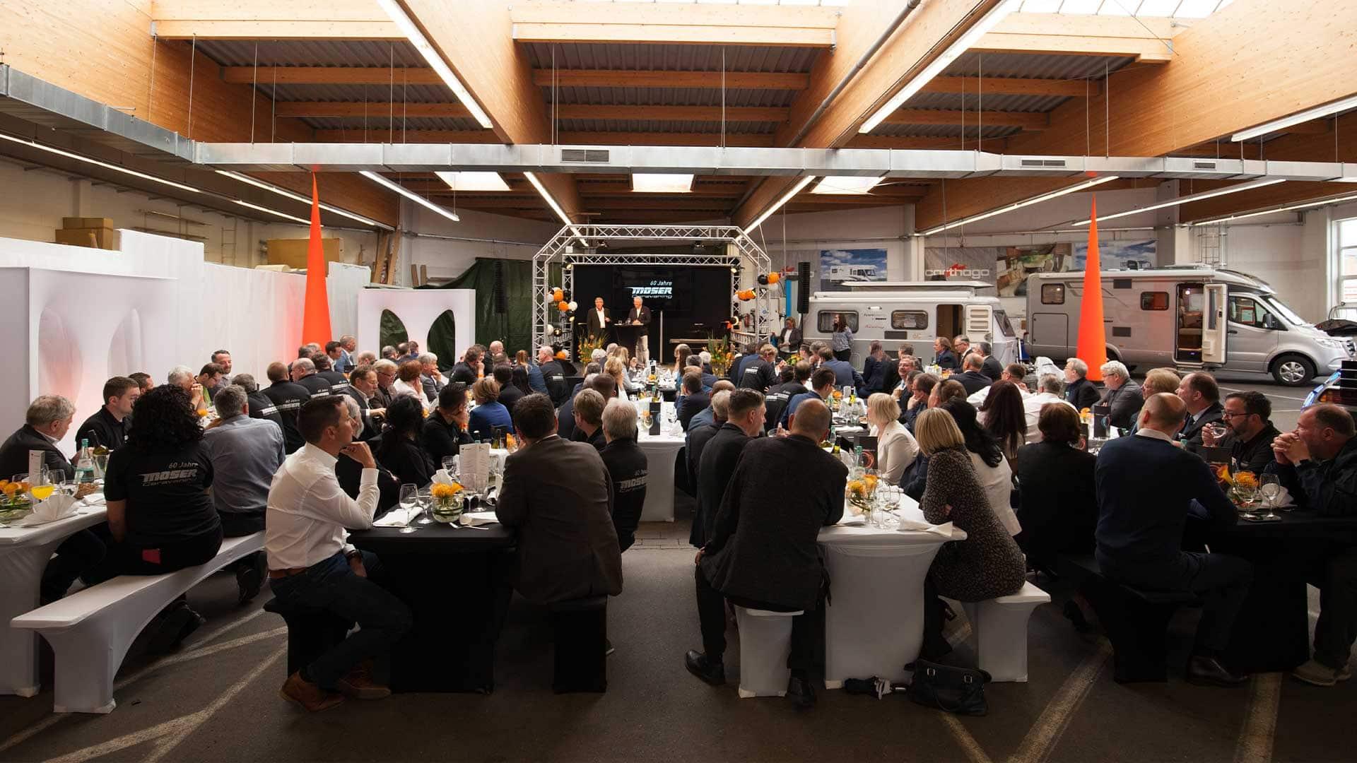 Moser Caravaning 60-jähriges Jubiläum